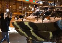 Активисты  на Мичуринском проспекте всерьез взялись за протест