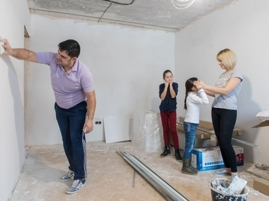 В Волгоградской области претендуют на улучшение жилищных условий 2800 молодых семей