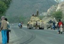 Йеменские боевики уничтожили танк Т-34 и сняли это на видео