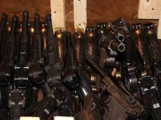 Минобороны показало немецкое оружие, которое используют для храма