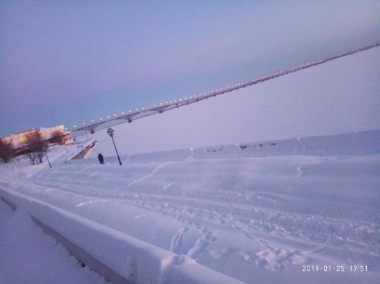 Снегопад в Саратове. Последствия