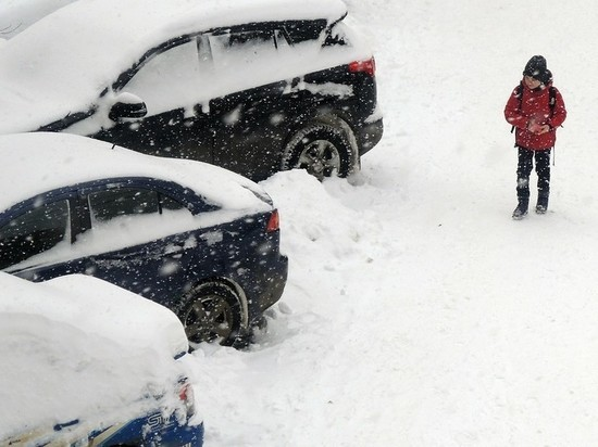 В Москве начался самый долгий с начала зимы снегопад
