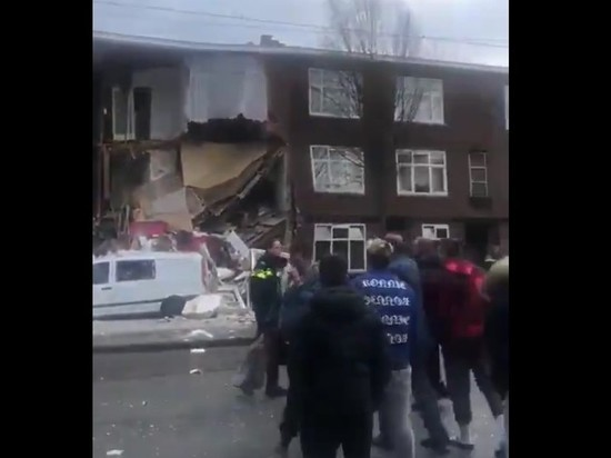ВГааге мощнейший  взрыв разрушил несколько домов: под завалами ищут пострадавших