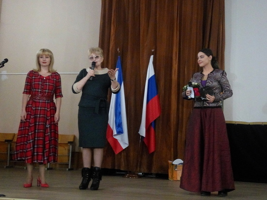 Ксению Симонову наградили медалью Уполномоченного РФ