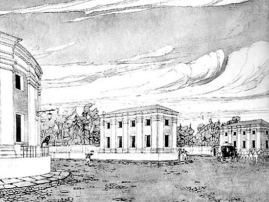 Как строили петрозаводскую Круглую площадь, и почему она круглая