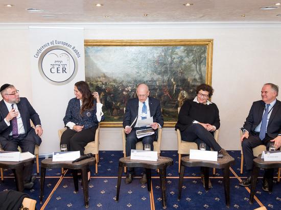 Совет раввинов Европы провел панельную дискуссию на ВЭФ в Давосе
