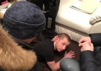 Появились кадры задержания похитителя картины Куинджи