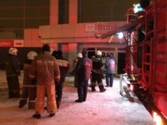 В Тамбове ночью горели торговые ряды Центрального рынка