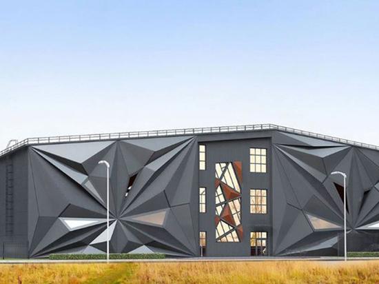 В Новой Москве построят спорткомплекс в виде оригами