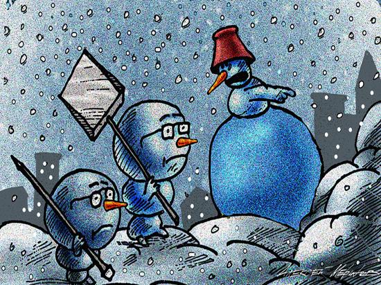 Саратовскую чиновницу уволили за уборку снега: где были коммунальщики