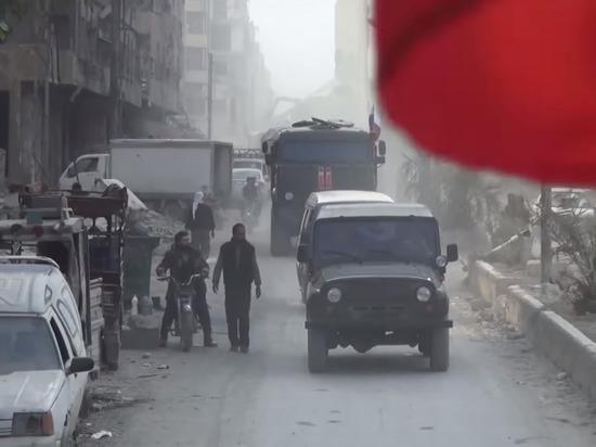 Боестолкновения между российскими ииранскими военнослужащими вСирии— Десятки погибших