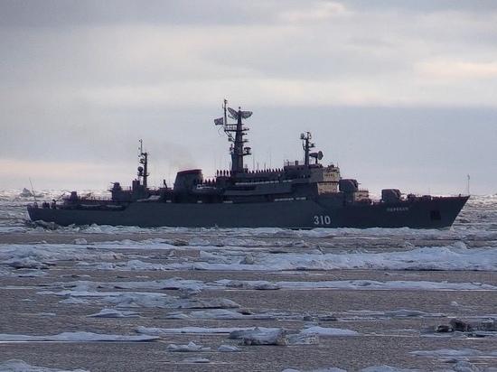 Курсанты ВМФ России пройдут практику в Арктике