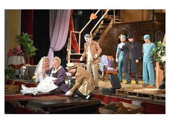 В Серпухове зрители насладились новым спектаклем «Дорогая Памела!»