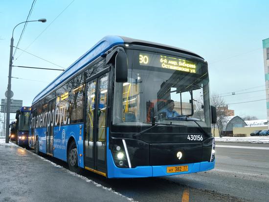 Электробусы прижились на дорогах Москвы