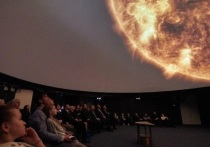 В Иркутске открыли самый большой школьный планетарий