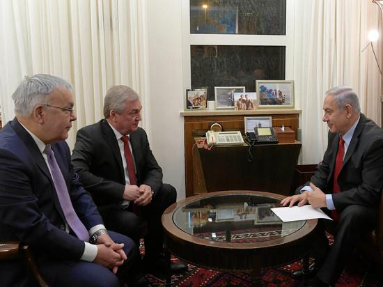 Нетаниягу встретился со спецпредставителем президента России и заместителем министра иностранных дел РФ