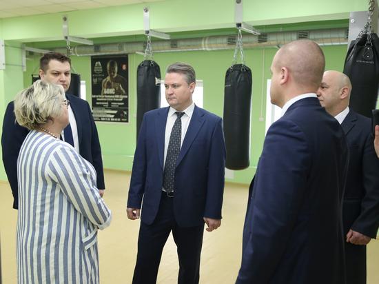Вадим Кстенин оценил строящиеся спортобъекты