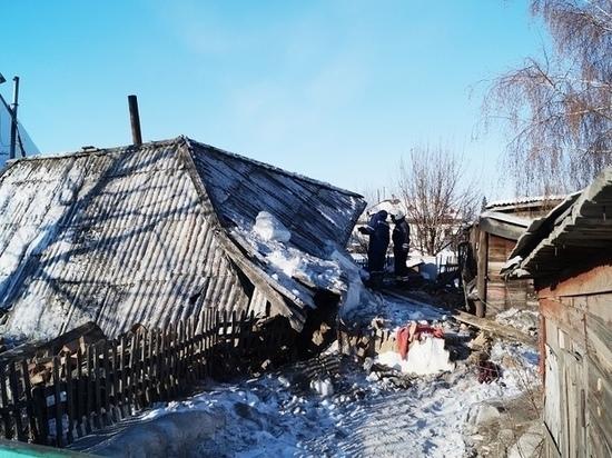 Взрыв бытового газа в Рубцовске