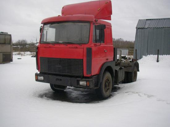В Ленинском районе Новосибирска украли «СуперМАЗ»