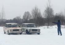В Смоленской области «Боевая классика» вышла на лед