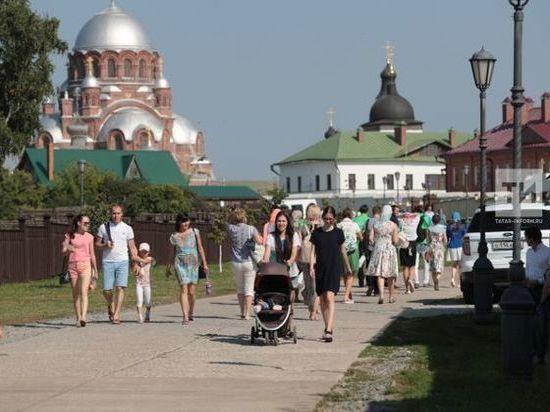 Число туристов в Свияжске выросло на 71%