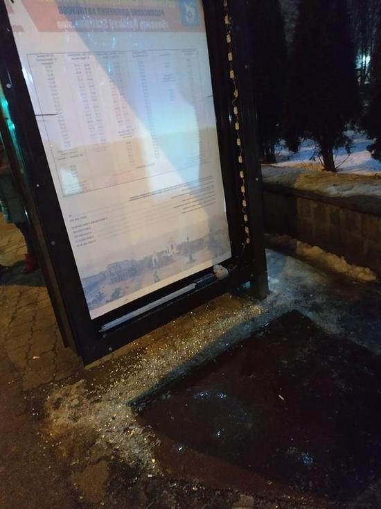 В Калининграде на Северном вокзале разбили информационное табло