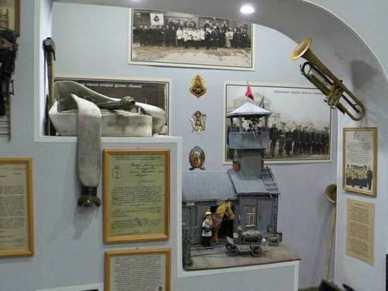 В музее МЧС открылась экспозиция о добровольчестве