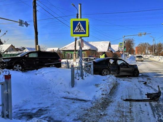 Трое пострадали в ДТП на улицах Бердска