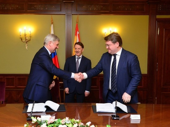 Воронеж заключил соглашение с крупнейшей энергетической компанией