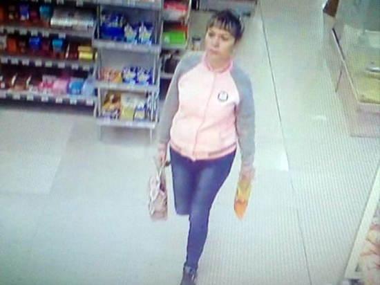 В Иркутске ищут девушку, присвоившую кошелек в супермаркете