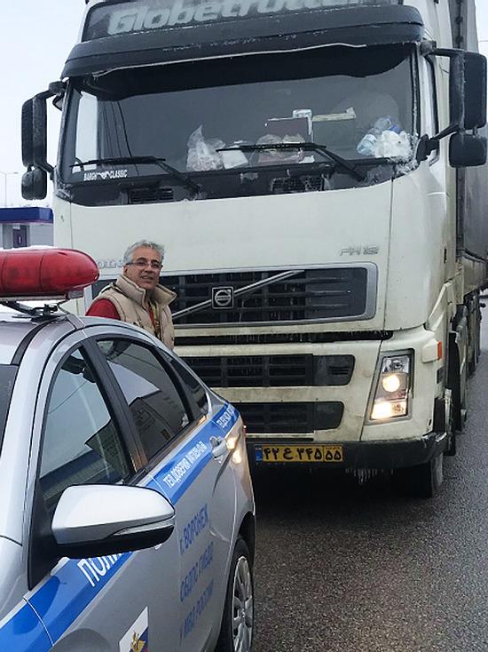 Воронежские полицейские выручили гражданина Ирана