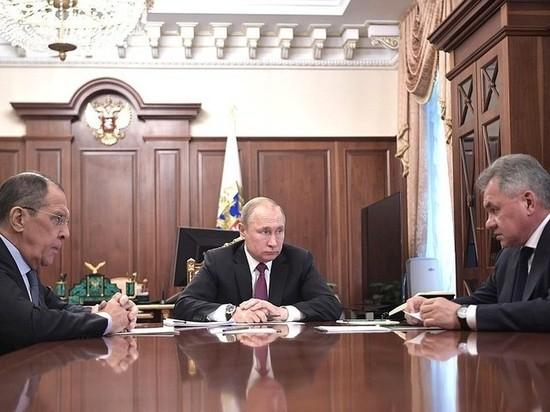 Путин заявил о приостановлении Россией ДРСМД