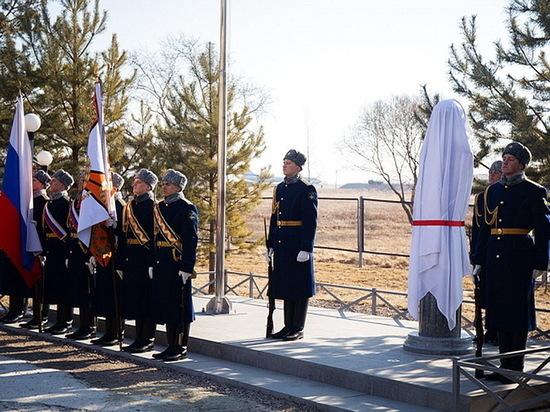 Памятник героическому воронежскому летчику появился в Приморском крае