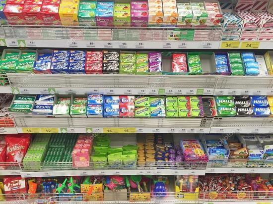 В Ярославле украдено рекордное количество жвачки
