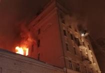 Появились первые данные о пострадавших при пожаре в