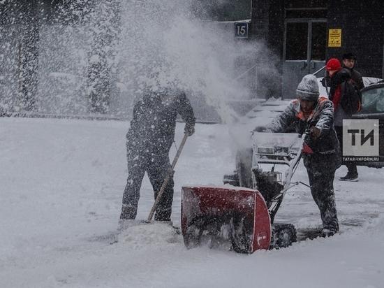 С начала зимы в Казани 209 раз нарушили правила уборки снега