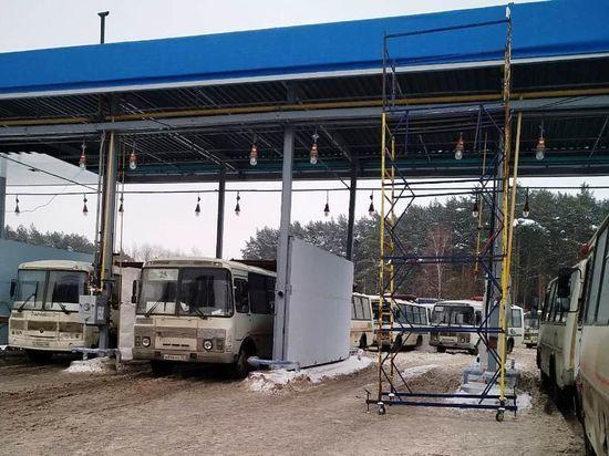 Артамонов потребовал установить передвижную станцию заправки автобусов