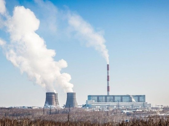 Из-за морозов на новосибирской ТЭЦ-5 сломался энергоблок