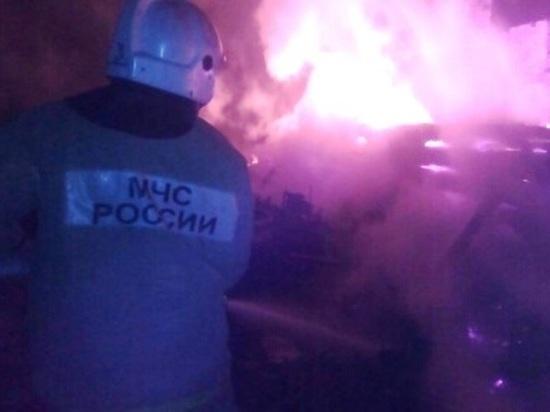 В пожаре под Калугой погиб 63-летний мужчина