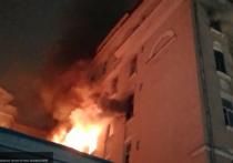 Количество погибших в пожаре на Никитском бульваре достигло шести