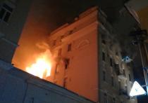 Подробности пожара на Никитском: Ксения Башмет разгневала чиновника