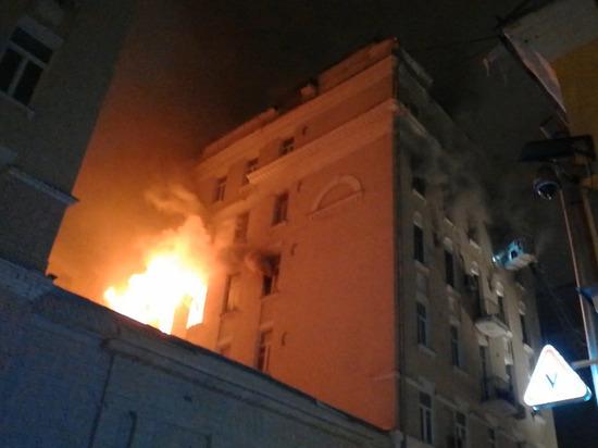 Ее квартира, где началось возгорание, полностью уничтожена