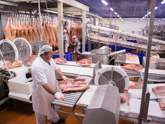 В 2018-м «Кудряшовский мясокомбинат» произвел 45 тыс. т продукции
