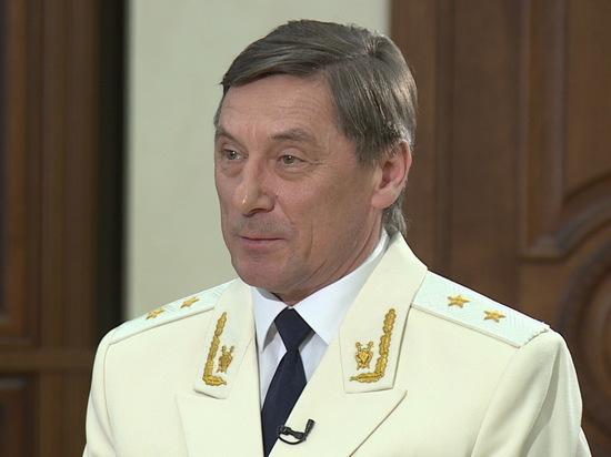 Прокурор Воронежской области принимает поздравления с 60-летием