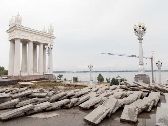 Волгоград направит более 1,7 млрд рублей на реконструкцию набережной