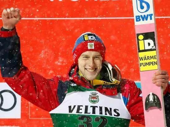 Климов стал первым россиянином, завоевавшим медаль на полетном трамплине