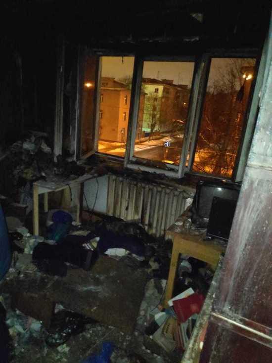 Пенсионер сгорел на диване в своей квартире в Калуге