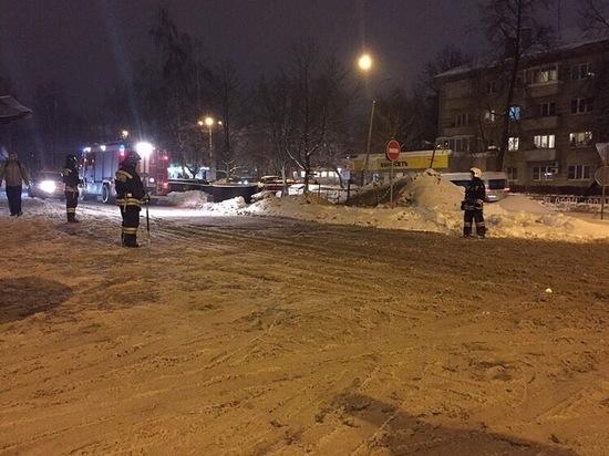 Газовую трубу разорвало рядом с вокзалом в Обнинске