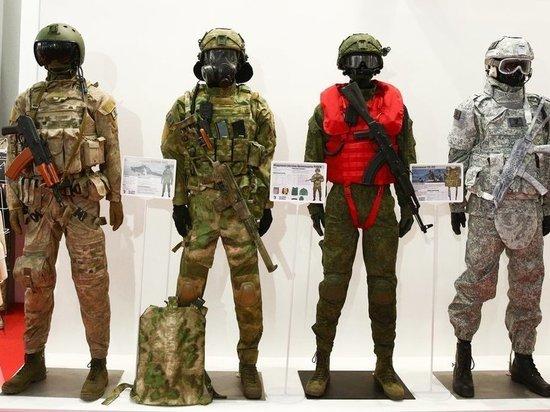 Для российских солдат создали камуфляж-хамелеон