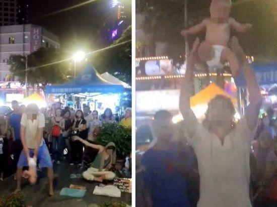 В Малайзии «жонглировавших» ребенком россиян выпустили на свободу